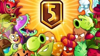 Plants Vs Zombies 2 - New Update New Plants Level 5 System! PvZ 2 China