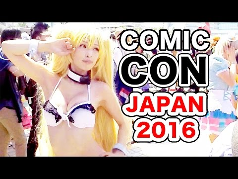 CRAZY Anime/Manga COSPLAY!|COMIKET - Japan COMIC-CON 2016|Limited Edition GOODS
