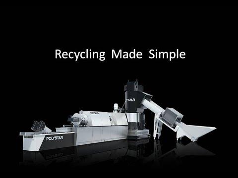 POLYSTAR Plastic Recycling System