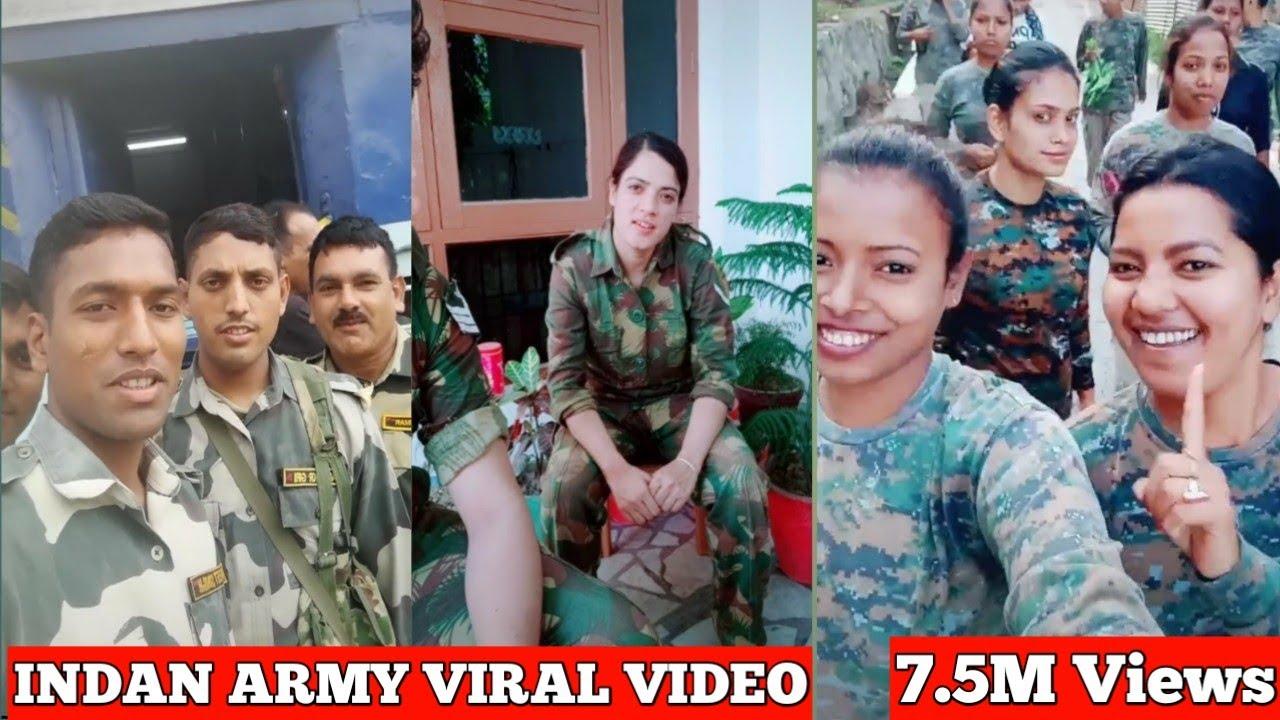 INDAN ARMY #BSF #CISF #ITBP #SSB #CRPF Best  tik tok musically Star