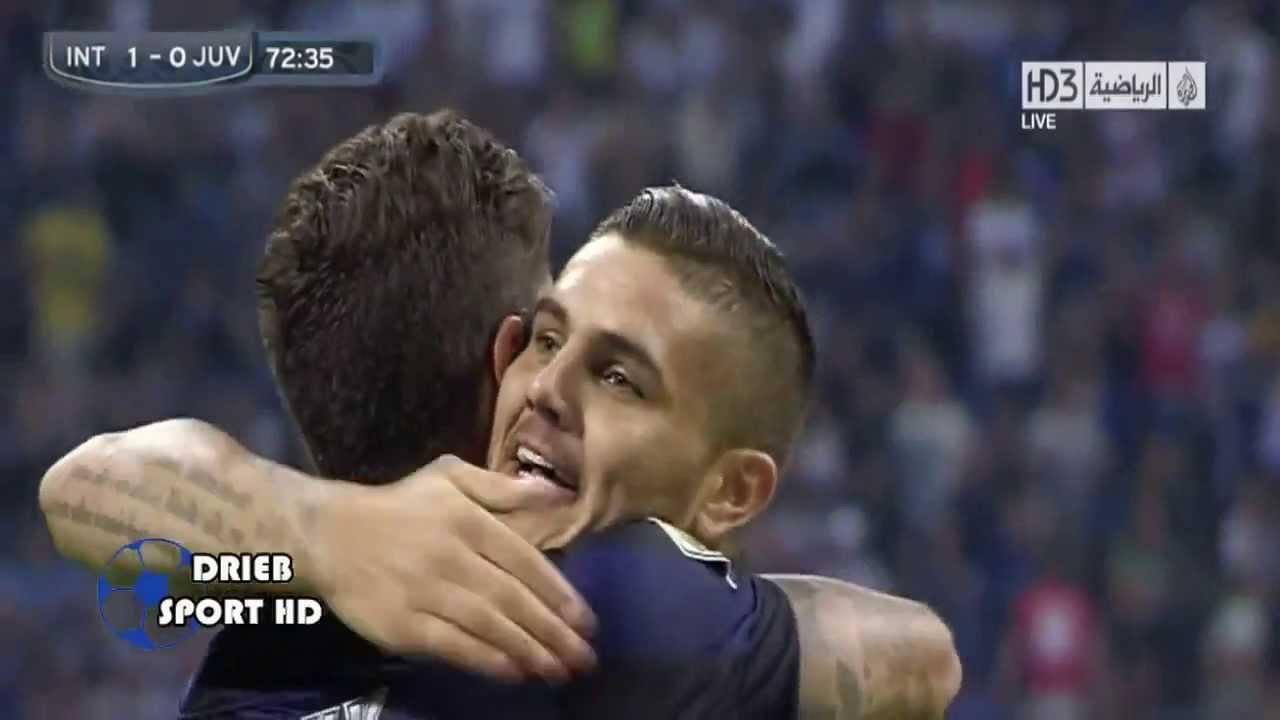اهداف مباراة إنتر ميلان 1 - 1 يوفنتوس (14_9_2013) تعليق ...
