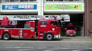 東京消防庁 東久留米消防署の消防車