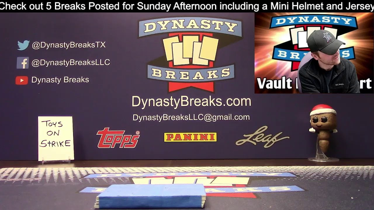 Dynasty Breaks Sports Card Box And Case Group Breaks Live