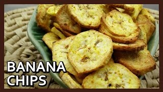 Kerala Banana Chips Recipe | How to make Banana Chips | Kele in Chips | Healthy Airfryer Recipes