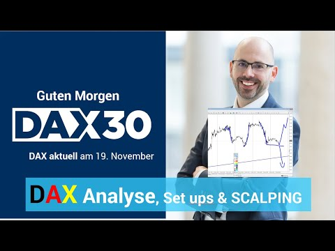 DAX aktuell: Analyse, Trading-Ideen & Scalping | DAX 30 | CFD Trading | DAX Analyse | 19.11.19