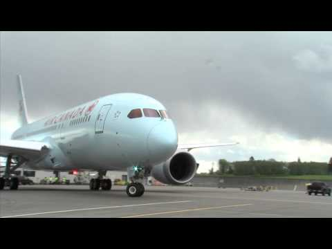 First Flight Test of Air Canada's Boeing 787 // Essai en vol du Boeing 787 d'Air Canada