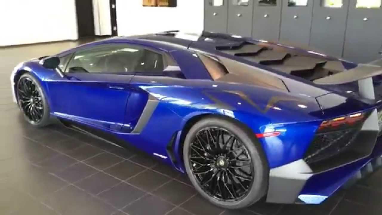 2016 Lamborghini Aventador Sv Houston Youtube