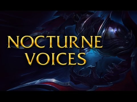 LoL Voices - Nocturne - All 17 languages