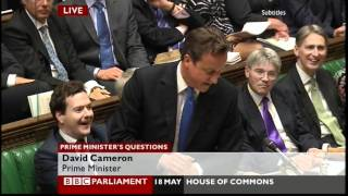 Question backfires spectacularly on Prime Minister