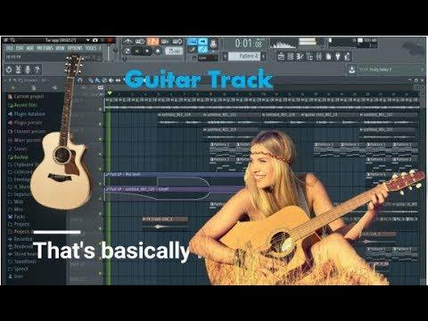 real guitar no sound in fl studio