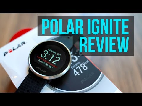 Polar Ignite GPS Fitness Smartwatch Review - Big on features, Small on Price! (Runners Perspective)