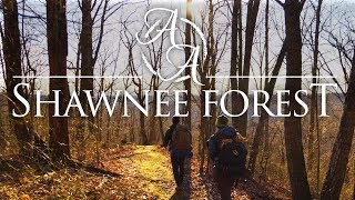 Shawnee State Forest in 4K | Backpacking with 3 Survival Bushcraft Firestarting Methods