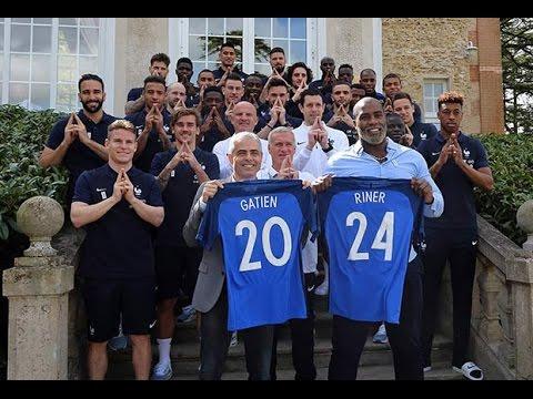 L'Equipe de France soutient Paris 2024