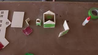 DIY Tiny Christmas Village
