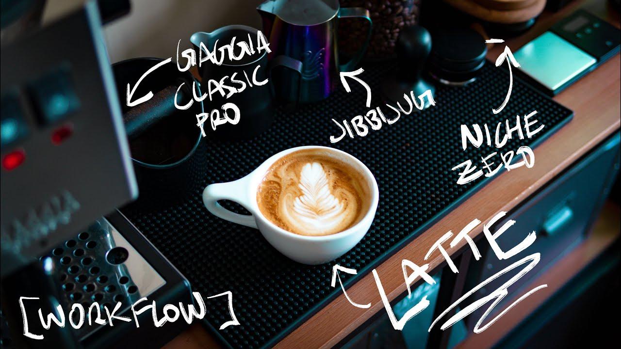 A Typical Gaggia Classic Pro and Niche Zero Workflow