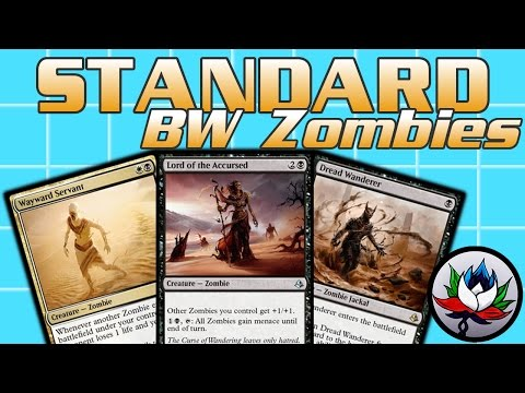 MTG – W/B Tribal Zombies Standard Deck Tech for Competitive Magic: The Gathering!