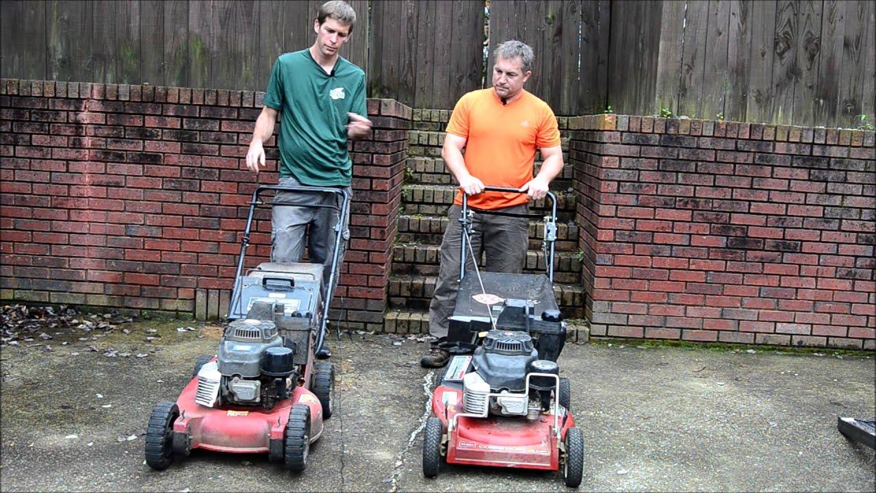 Exmark 21 vs toro proline commercial push mower review youtube fandeluxe Choice Image