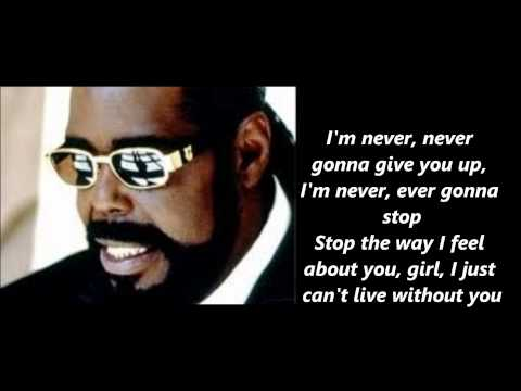 Клип Barry White - Never Gonna Give You Up