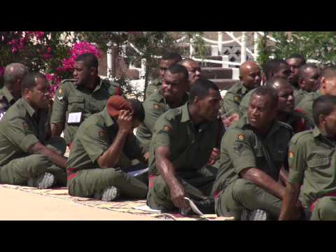 Fijian President H.E Ratu Epeli Nailatikau visits Fijian troops serving in Sinai
