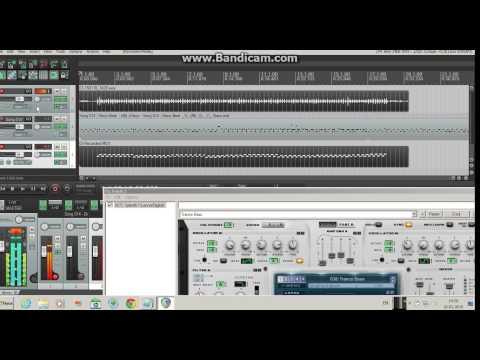 Настоящий виртуальный онлайн синтезатор