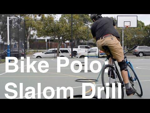 Bike Polo: Slalom Drill