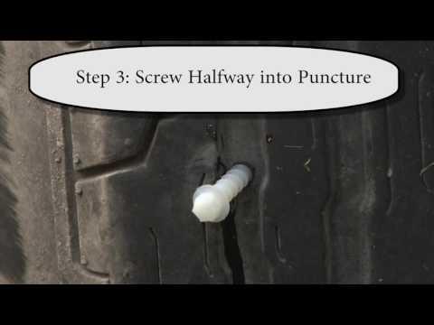 ScrewPlug How To – Tire Puncture Repair Kit