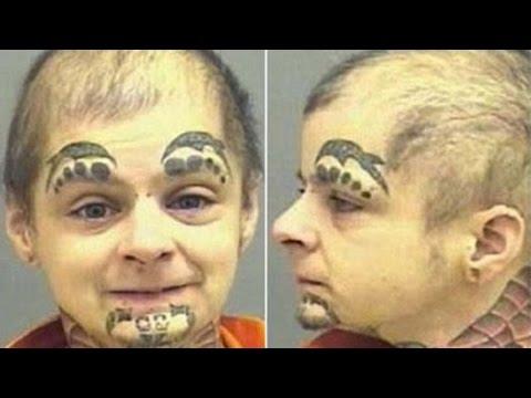 39 Most Bizarre Mugshots Ever Taken