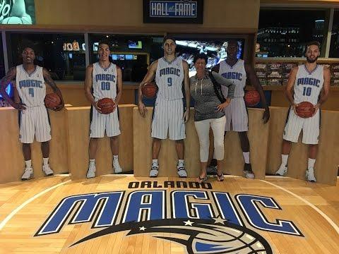 🔴 НА БАСКЕТБОЛЕ В ОРЛАНДО  🔴 Amway Center - Orlando Magic 23.02.2017