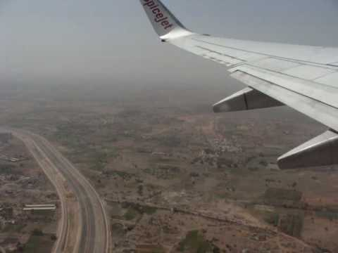 Spice Jet take off from Hyderabad take off on board SPICEJET BOEING 737 800 SG 912