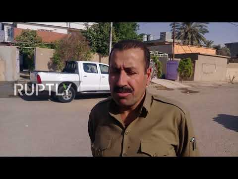 Iraq: Peshmerga fighters in Kirkuk react to Kurd-Iraq conflict