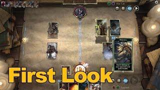 The Elder Scrolls: Legends Gameplay First Look - MMOs.com