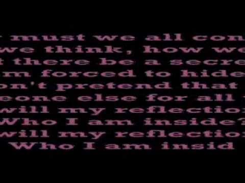 christina aguilera reflection lyrics