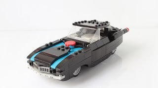 Mr. Incredible's car from the Lego Incredibles videogame