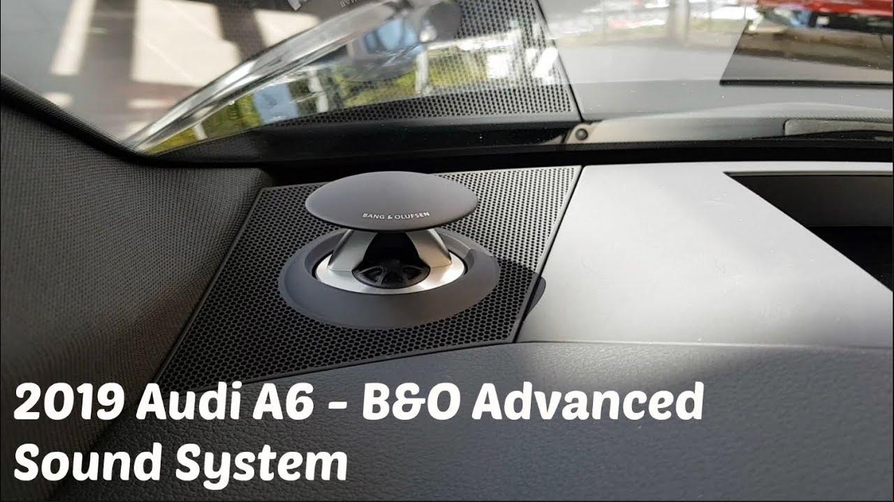 2019 Audi A6 - B&O Advanced Sound System