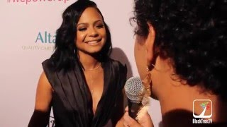 Christina Milian Interview at AltaMed event