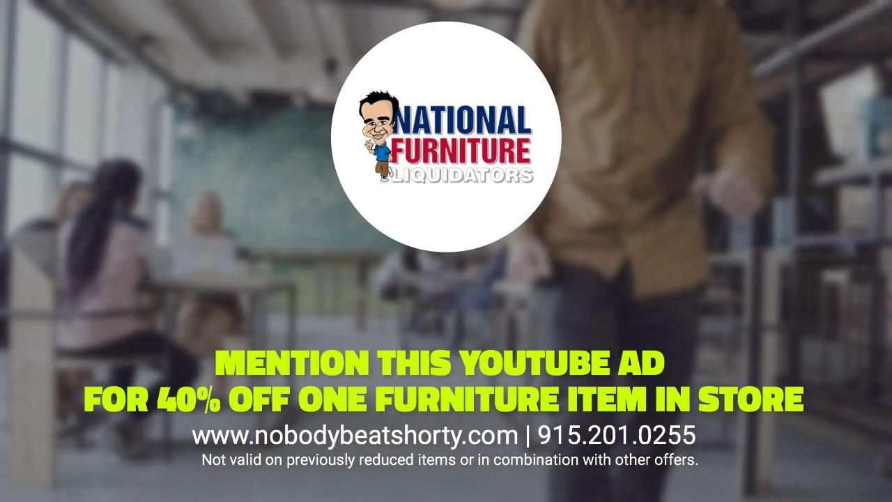Perfect Mention This Ad! National Furniture Liquidators In El Paso, TX