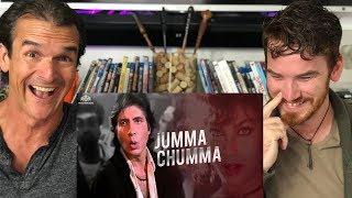 Jumma Chumma De De REACTION!  | Hum | Amitabh Bachchan Video