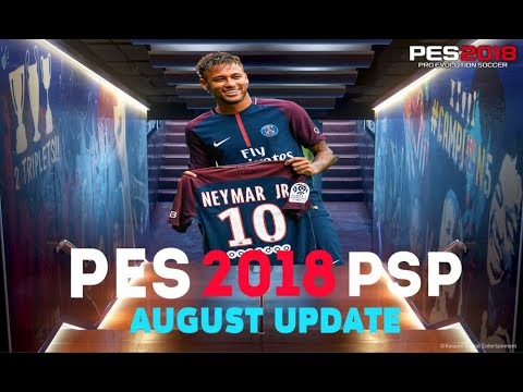 Pes 2018 Psp Ppsspp August Update Download Iso And Savedata