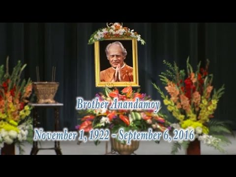 Brother Anandamoy Memorial Service