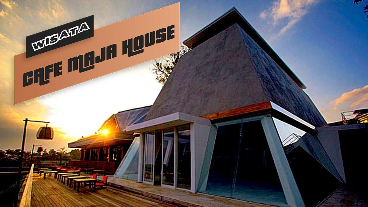 Cafe Maja House Lembang Bandung - YouTube