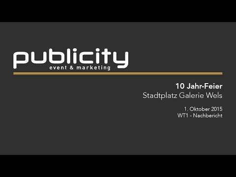 10 Jahre Stadtplatz Galerie Wels