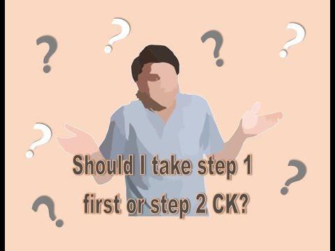 Which USMLE step to take first? Step 1 VS. Step 2 !!!