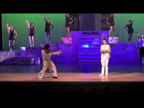 """Tim Hannig as Pharaoh """"Song of the King"""" Opening Night"""