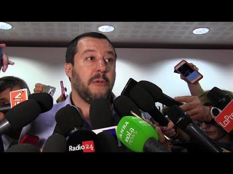 """Milano, Salvini: """"Proverò ostinatamente a fare un governo con il M5S"""""""