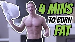 4 Minute Jump Around Tabata Fat Burning Workout - Live Lean TV