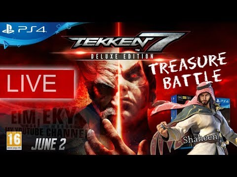 TEKKEN 7SEVEN (Treasure Battle) Shaheen - Live - | PS4 MALAYSIA| _10/10/2017