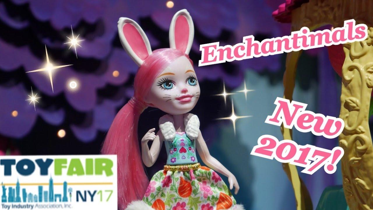 New Enchantimals Toy Fair 2017 By Mattel Youtube