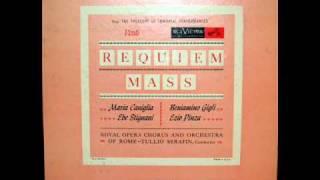 Verdi / Caniglia / Gigli / Pinza / Stignani, 1939: Requiem Mass - Tullio Serafin - Complete, Indexed