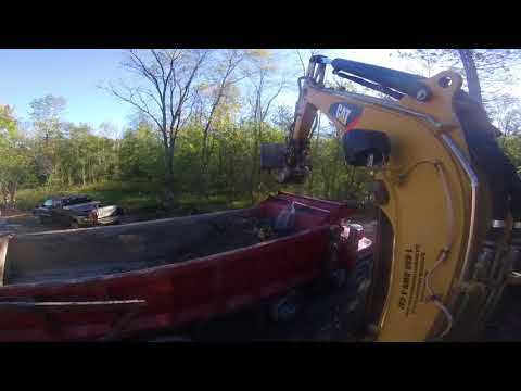 CAT 303 5 LOADING TRIAXLE MASS EXCAVATING BUCKET