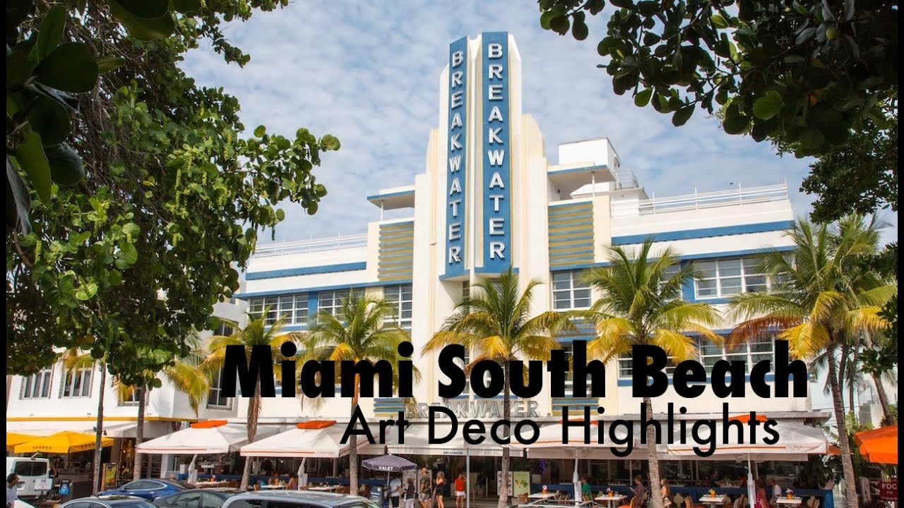 miami south beach art deco highlights vlog youtube